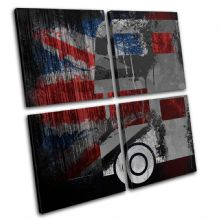 Union Jack Grunge Bus Urban - 13-6072(00B)-MP01-LO